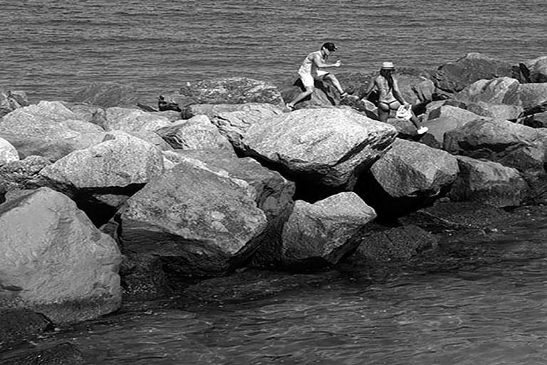 Couple on the Rocks