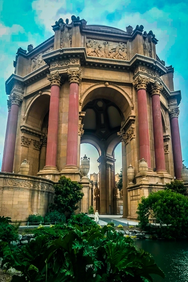 San Francisco Palace of Fine Arts Museum 1